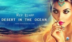 Red Lyard Desert In The Ocean